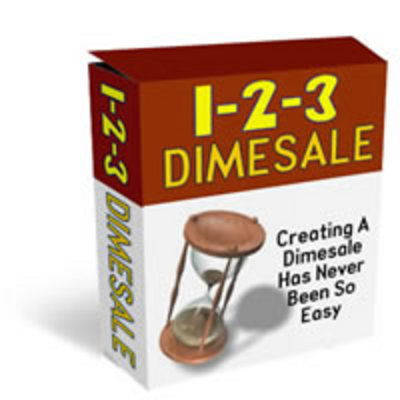 Product picture 1-2-3 Dimesale/Countdown